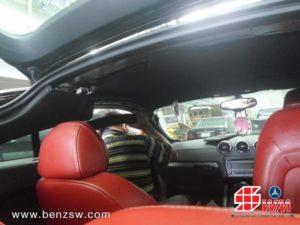 งานซ่อมผ้าบุหลังคา Audi TT ที่ ศูนย์เบนซ์ SW 3