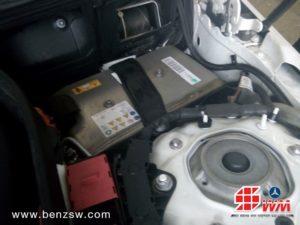 อู่เบนซ์ เปลี่ยนแบตเตอรี่ ไฮบริด (Hybrid Battery) E-Class 4