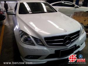 Benz E250 ที่เข้ารับการเปลี่ยนเฟืองแคมชาร์พ