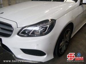เบนซ์ W212 หลังการซ่อม 2