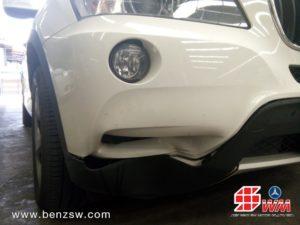 อู่เบนซ์ ซ่อมกันชนหน้า BMW X3 ภาพ 2