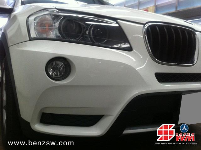 อู่เบนซ์ ซ่อมกันชนหน้า BMW X3 ภาพ 5