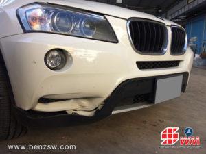 อู่เบนซ์ ซ่อมกันชนหน้า BMW X3 ภาพ 1