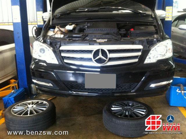 งานเปลี่ยนแร็ค Benz Viano