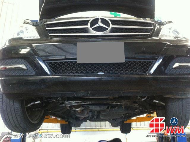 หลังการเปลี่ยนแร็ค Benz Viano