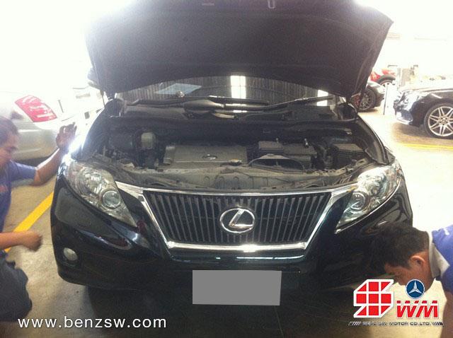 ภาพหลังซ่อม Lexus RX350 ภาพที่ 3