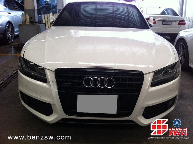Audi A5 ชนเสียหายหนัก 1