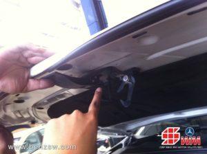 งานซ่อม Audi A5 ที่เปิดกระโปรงหน้าหัก 1