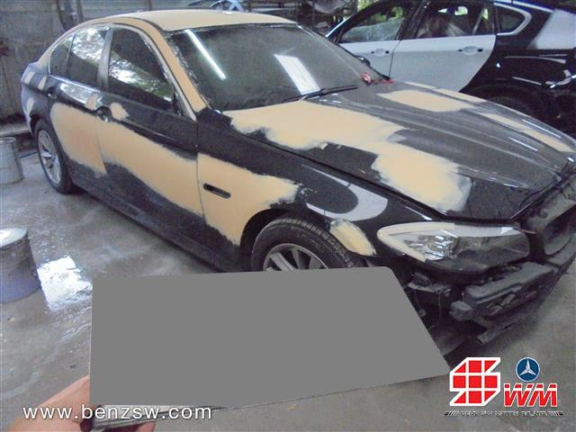 ซ่อมตัวถัง โป๊วสี BMW 520d อู่เบนซ์ เอส ดับบลิว ด้านหน้า