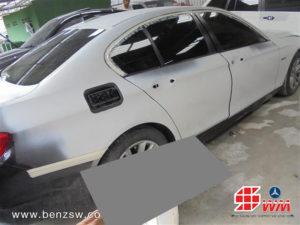 ทำสีรองพื้น BMW 520d ที่อู่เบนซ์ เอส ดับบลิว 2