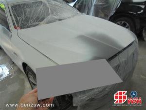 ทำสีรองพื้น BMW 520d ที่อู่เบนซ์ เอส ดับบลิว 1