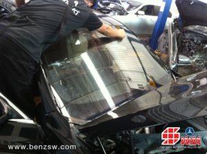 ติดตั้งกระจก BMW 520d 3