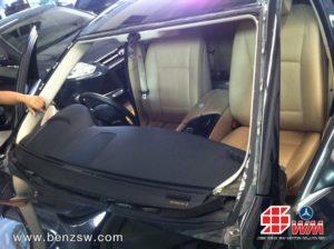 ติดตั้งกระจก BMW 520d 4
