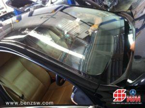 ติดตั้งกระจก BMW 520d 2