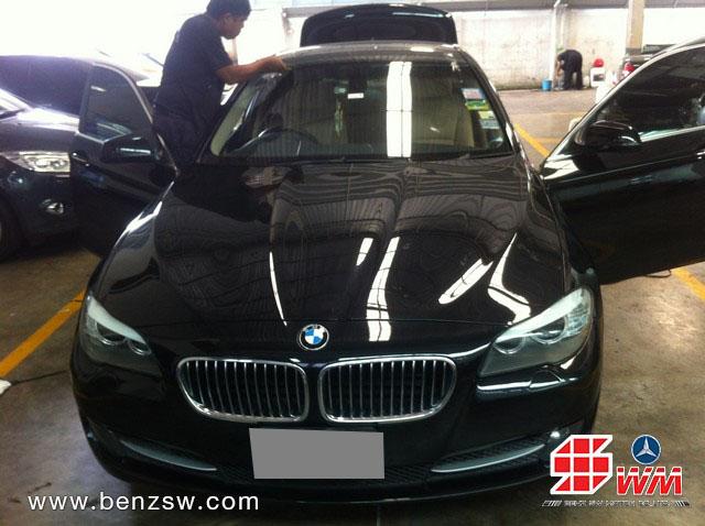 ซ่อม BMW 520d เสร็จที่ อู่เบนซ์ เอส ดับบลิว
