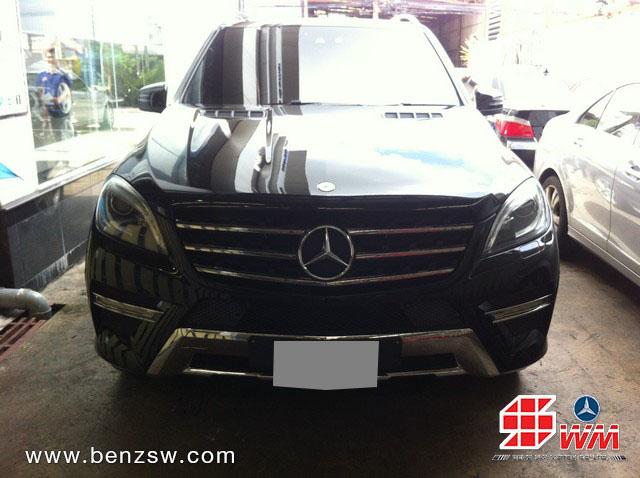 ซ่อมสี Benz ML250