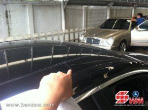 รอยบนหลัง BMW 520d