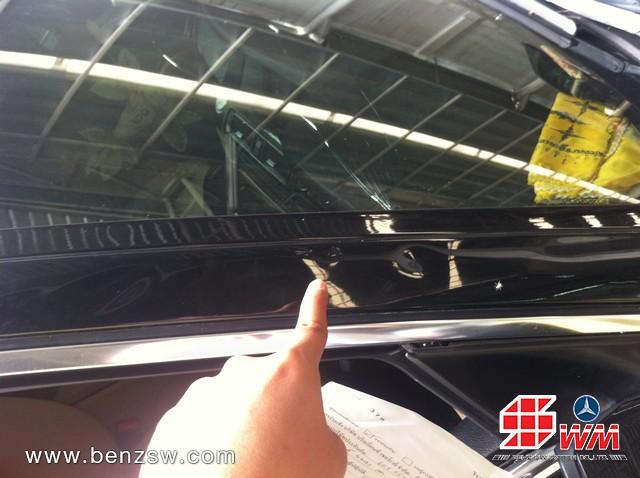 เปลี่ยนกระจก BMW 520d
