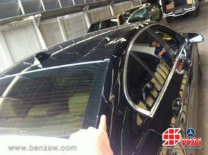 เสาเก๋งหลัง หลังคาบุบ BMW 520d