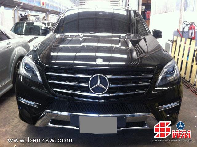 Benz ML ทำสี อู่เบนซ์ เอส ดับบลิว