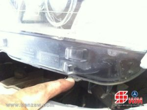 ตรวจสอบความเสียหายไฟใหญ่หน้า BMW X3