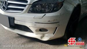 กันชนหน้า Benz CLC