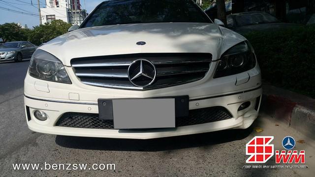 เคลมประกัน Benz CLC อู่เบนซ์ เอส ดับบลิว