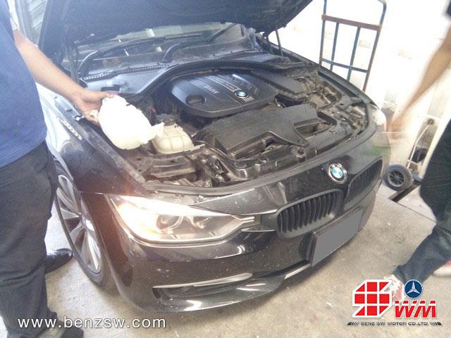 หม้อน้ำ BMW 3