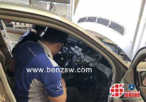 ซ่อม Benz W211 E220 CDI #แอร์ไม่เย็น ซ่อมจบ อะไหล่เบนซ์ แท้ ที่ อู่ เบนซ์ เอสดับบลิว
