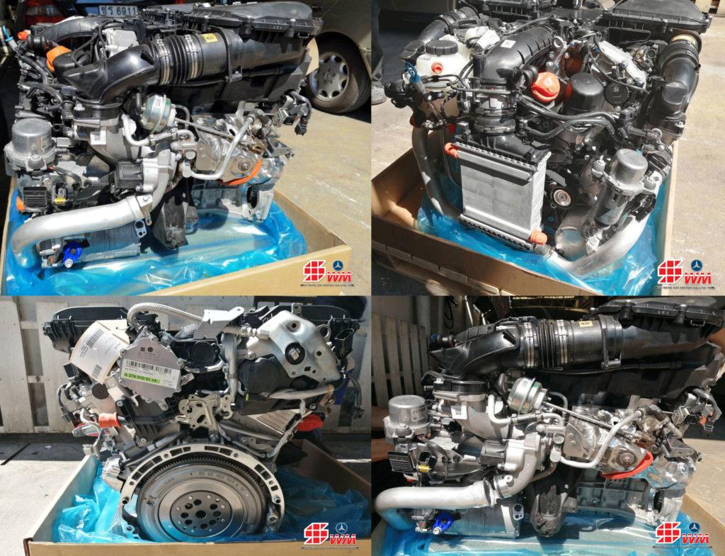 เครื่องยนต์ Benz S400 hybrid ใหม่แท้ นำเข้าจากต่างประเทศ