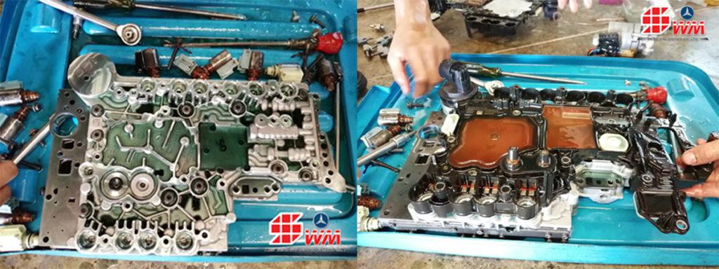 ผลงานการซ่อมผงวงจรเกียร์-8800-HYDRID-E300