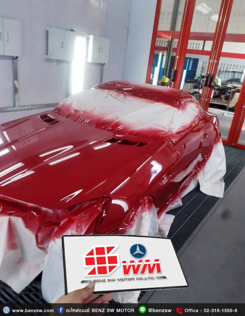 Benz SW ศูนย์บริการซ่อมเบนซ์ ซ่อมทำสีรถยุโรป เบนซ์ , บีเอ็มดับลิว ทำสีรถนำเข้า รถซุปเปอร์ ทุกยี่ห้อ ( Super Car )