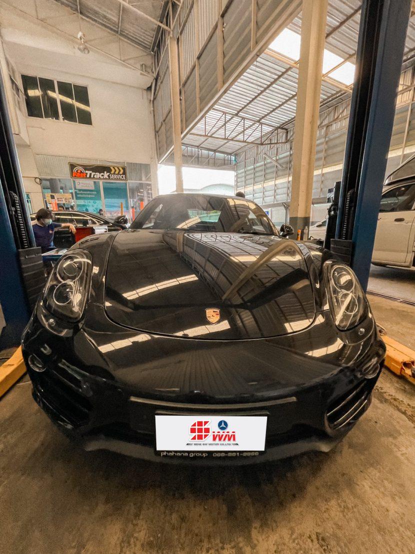 เปลี่ยนผ้าเบรค-Porsche อู่ซ่อมเบนซ์ เอส ดับบลิวฯ